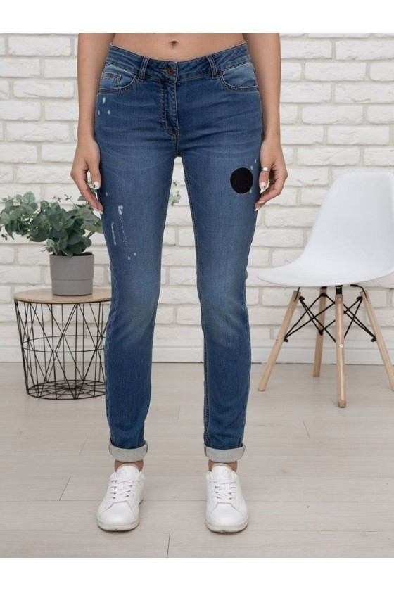 jeans destroyed look damen ppep