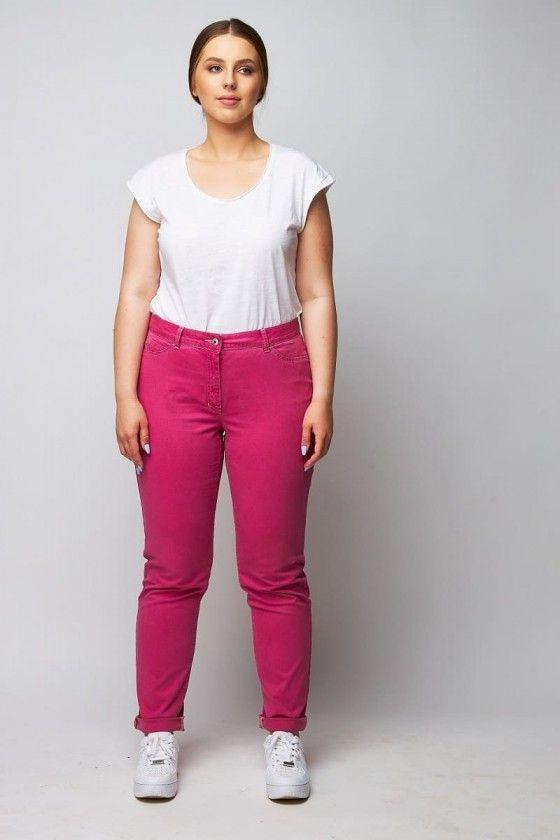 rosa Jeans Hose Damen große Größen wille moden