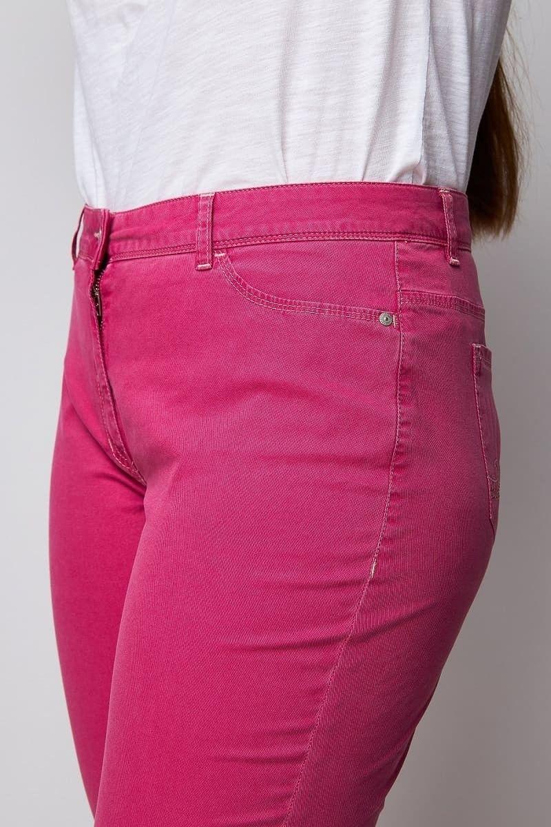 Bequeme rosa Jeans Damen große Größen wille moden