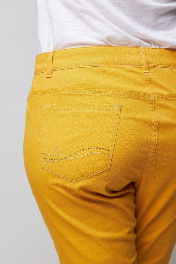 Jeans für kurvige Frauen wille moden