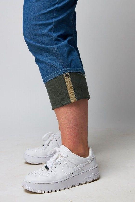 bequeme jeans mit gummizug große größen
