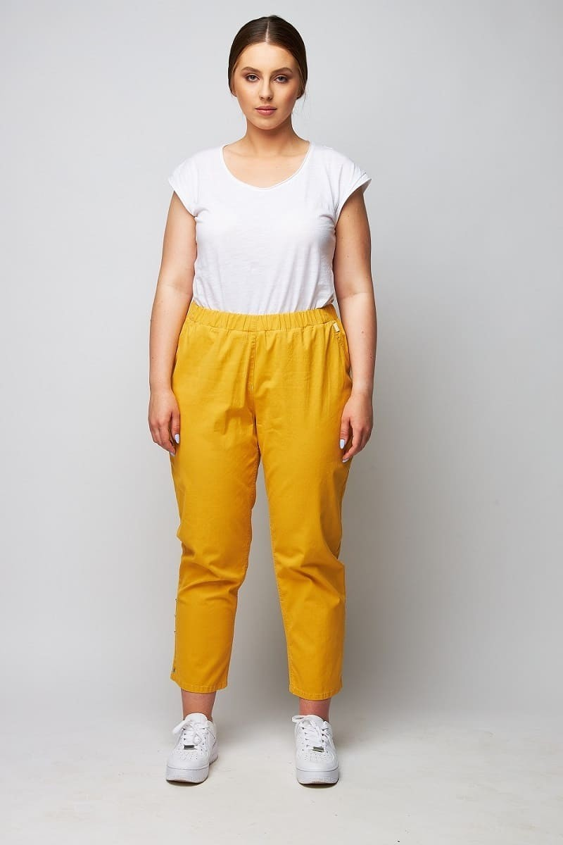 dreiviertel jeans hosen damen große größen wille
