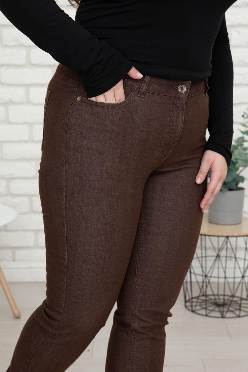 jeans für mollige damen mit hohem bund wille moden