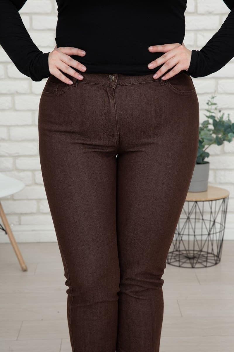 jeans für mollige damen braun wille moden