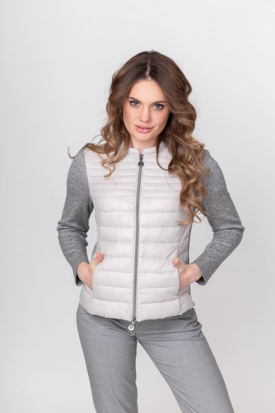 Steppjacke Strick Damen
