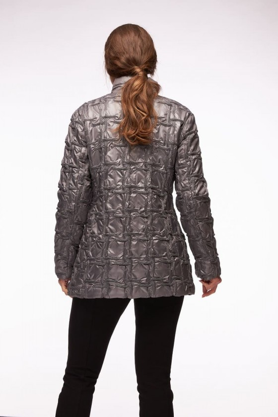 Steppjacke Damen - Anthrazit