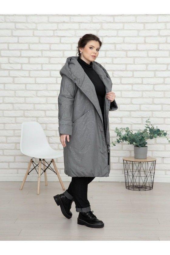 Damenmantel in Grau